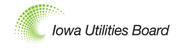 Iowa utility board logo